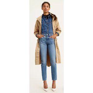 NWT Levi's 501 Stretch Skinny Women's Jeans 25/28